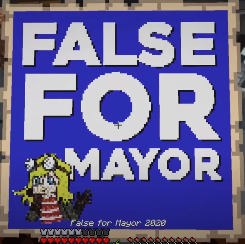 False for Hermitcraft Mayor
